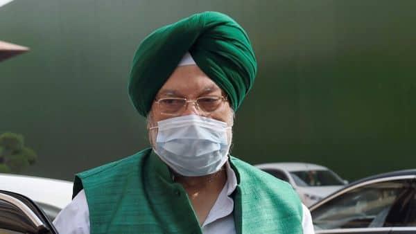 Petroleum and natural gas minister Hardeep Singh Puri. (File Photo: PTI)