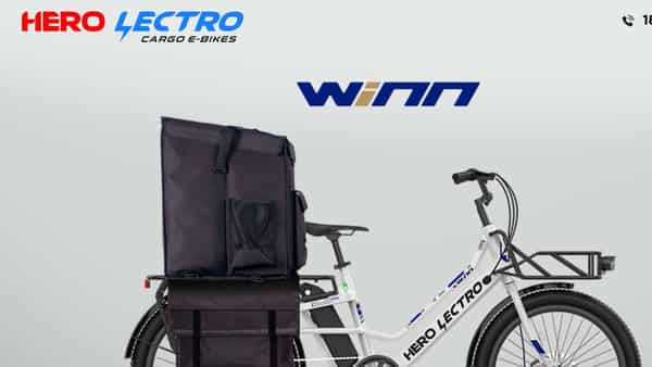 The showroom will display the latest Hero Lectro WINN cargo e-cycle and its high range variant – WINN X - the first purpose-built cargo vehicle. (Photo: Company website)