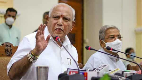 Karnataka chief minister BS Yediyurappa had denied any plan to step down at the conclusion of his meetings with the Central high command during his New Delhi visit last weekend. (PTI)