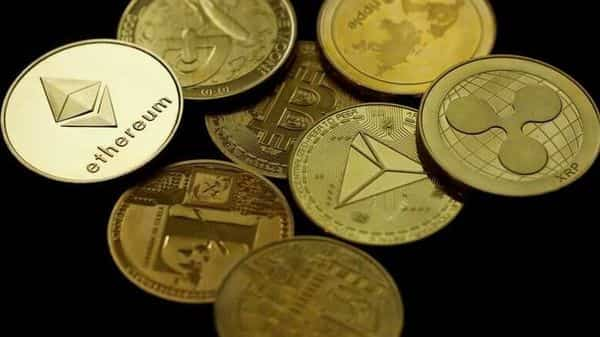 cryptocurrency Ethereum is seen among representations of other cryptocurrencies in this picture illustration (REUTERS)