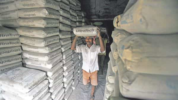 Ultratech Cement registered impressive earnings in line with expectations, on the back of higher-than-expected jump in average realisations and resilient input cost. (Reuters)
