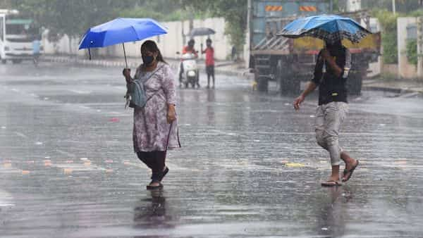 IMD predicts rainfall between July 23 and July 25 in several Indian states. (HT PHOTO)