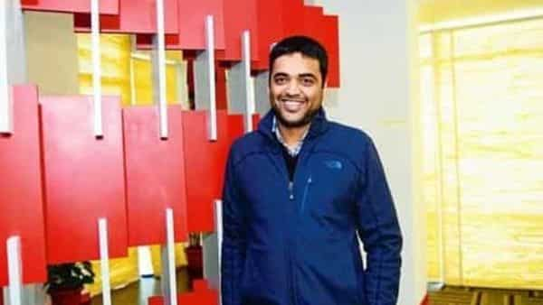 Zomato CEO Deepinder Goyal.