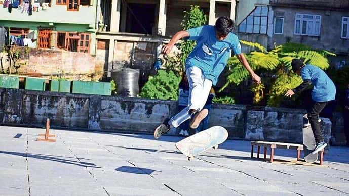 Skating is keeping many youngsters off drugs and self-harm, helping them find an outlet for their energy.