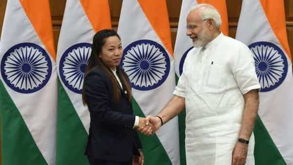 Prime Minister Narendra Modi said that India is elated by weightlifter Mirabai Chanu's stupendous performance. (@narendramodi)