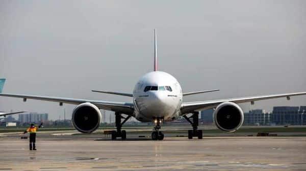 An Emirates plane  (Reuters)