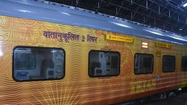 How Railways is giving Rajdhani Express a makeover with modern Tejas coaches
