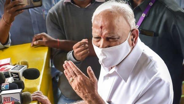 Bengaluru: Karnataka Chief Minister B S Yediyurappa (PTI)