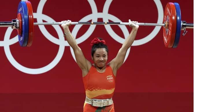 Mirabai Chanu at Tokyo Olympics (PTI)