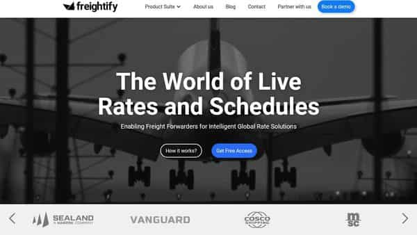 Freightify will use the proceeds from the fundraise to invest in expansion into the US and Europe.