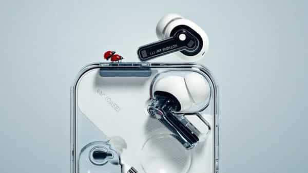 The Earbuds (1) come with a see-through carry/charging case and the earbuds also have the element of transparency