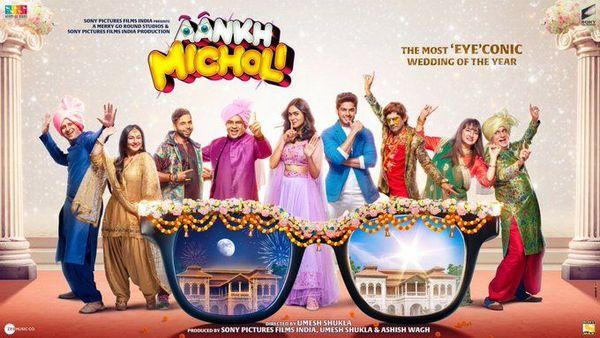 Aankh Micholi will feature Paresh Rawal, Mrunal Thakur, Abhimanyu and Sharman Joshi, among others.