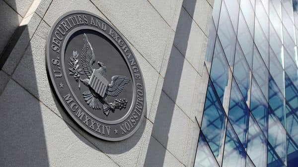 The seal of the U.S. Securities and Exchange Commission (SEC) is seen at their headquarters in Washington, D.C. (File photo) (REUTERS)