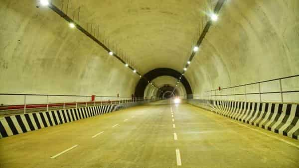 One side of Kuthiran Tunnel in Kerala has been opened. (Photo credit: Twitter)