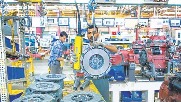Strengthening international demand contributed to the uptick in total order books. (Photo: Mint)