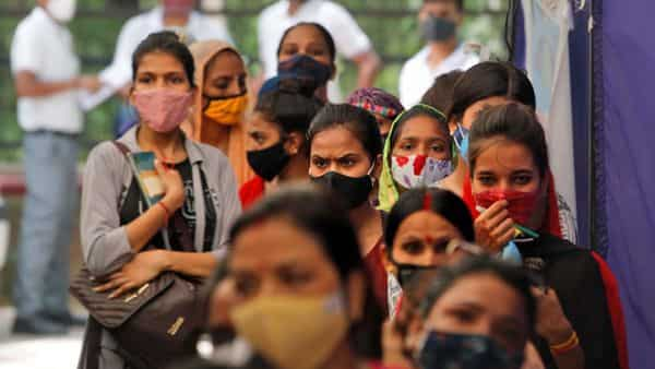 The second wave of the coronavirus pandemic is expected to deepen economic stress in India, which was already in its worst recession for seven decades (AP)