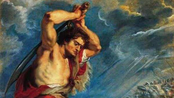 'David Slaying Goliath' by Peter Paul Rubens.