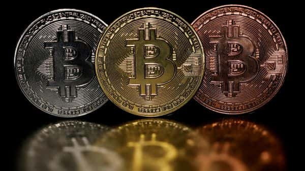 Representations of cryptocurrency Bitcoin are seen in this picture illustration  (REUTERS)