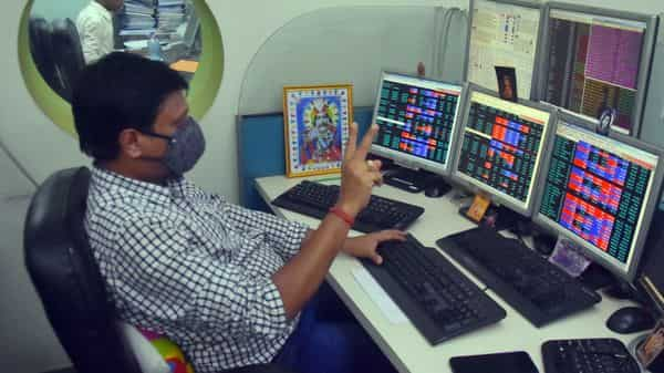 Sensex hit record high today by crossing the 54,000 milestone