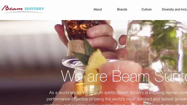 Beam Suntory, headquartered in Chicago, Illinois, is a subsidiary of Suntory Holdings Limited of Japan. Globally it competes with British liquor major Diageo Plc and French spirts company Pernod Ricard.