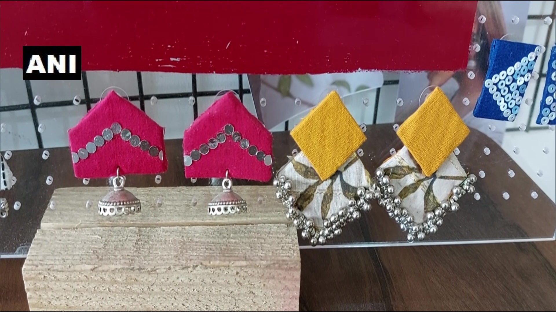 Jewellery samples made by Jayati dave and her mother during Covid pandemic.