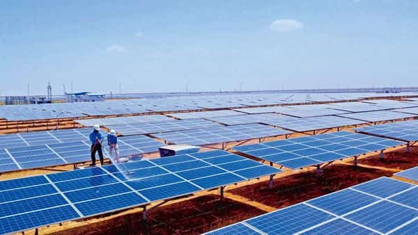 India is running the world's largest clean energy programme to achieve 175GW of renewable capacity, including 100GW of solar power by 2022 (Photo: PTI)