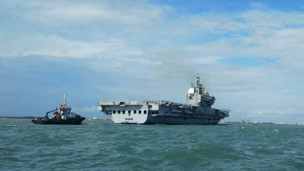 Vikrant, India's first indigenous aircraft carrier, returned after five-day long sea trials