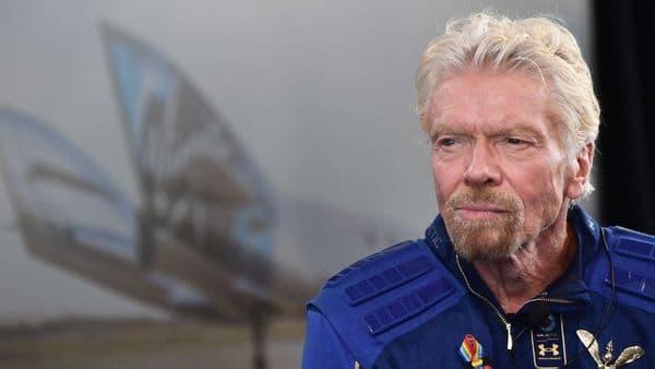 Richard Branson. (AFP)