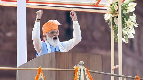 PM Modi's speech from Red Fort on 75th Independence Day. 10 key points