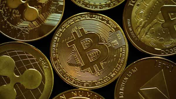 cryptocurrencies representation is seen in this picture illustration (REUTERS)
