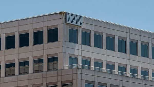 The IBM office in Foster City, California (Bloomberg)