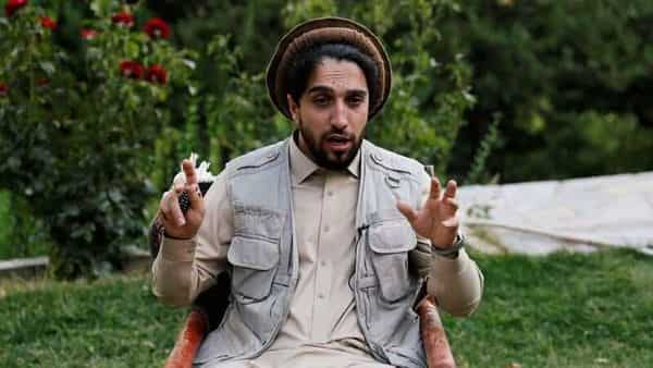 FILE PHOTO: Ahmad Massoud, son of the slain hero of the anti-Soviet resistance, Ahmad Shah Massoud, speaks during an interview at his house in Bazarak, Panjshir province Afghanistan (REUTERS)