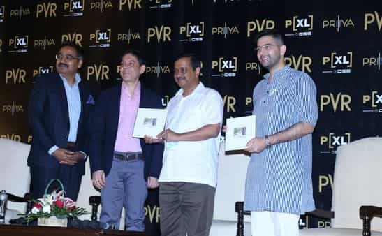 Luxury segment makes up 12% of PVR's total screen count.