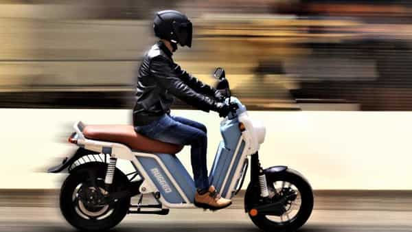 The Rugged electric scooter will come with cradle chassis and steel frame