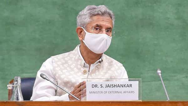 External Affairs Minister S Jaishankar briefs the all-party panel over the present situation in Afghanistan