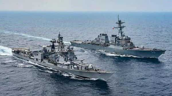 The US Seventh Fleet, in a statement, said the exercise demonstrated the commitment among the like-minded nations to uphold a rules-based maritime order in the Indo-Pacific. (HT_PRINT)