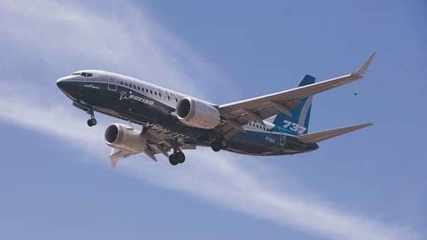 A file photo of a Boeing 737 MAX airplane during a test flight at Boeing Field in Seattle, Washington, US (Photo: Reuters)