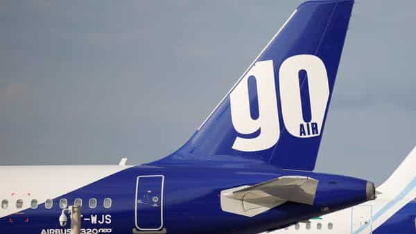 A GoAir Airbus A320neo passenger aircraft is parked at the Airbus factory (REUTERS)