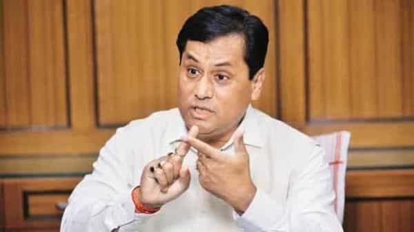 Sarbanand Sonowal, Union Minister of Ayush.