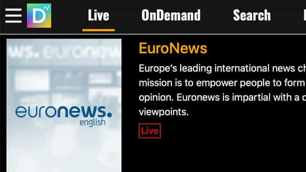 DistroTV primarily caters to the US, the UK and Canadian population, and has more than 150 channels on the platform, including Bloomberg, EuroNews, Us Weekly and others.