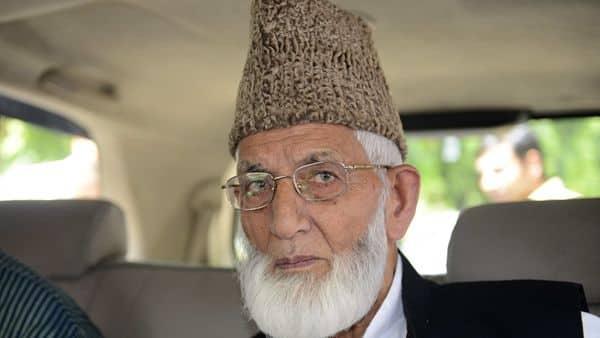 A file photo of Kashmiri separatist leader Syed Ali Shah Geelani. (AFP)