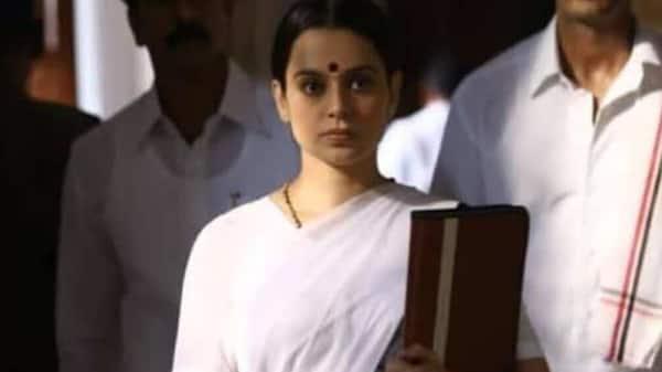 Based on the life of actor politician J.Jayalalithaa, Thalaivii is slated for release on 10 September. (Photo: Twitter @Karthikravivarm)
