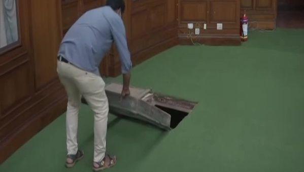 Delhi: Tunnel at Delhi Legislative Assembly