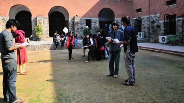 A file photo of Delhi University's St Stephen's College. Photo: Priyanka Parashar/Mint