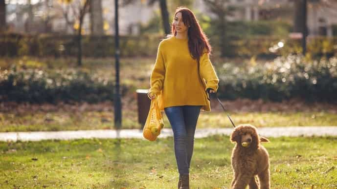 Small things like talking your dog for a walk or walking to the grocery store instead of taking the car can help you stay fit