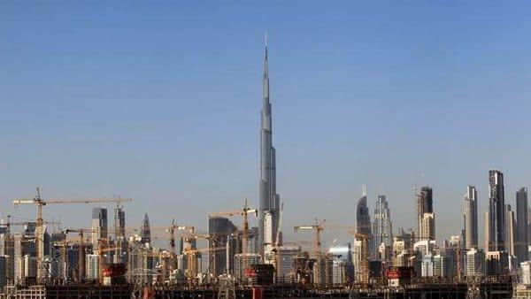 General view of Dubai's cranes at a construction site in Dubai, UAE. (Photo: Reuters)
