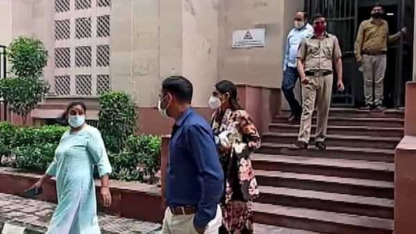 Economic Offences Wing (EOW) of Delhi Police arrests the partner of Sukesh Chandrashekhar Leena Maria in connection with the case related to allegedly duping the wife of former Ranbaxy promoter Shivinder Singh's wife Aditi Singh, in New Delhi (ANI)