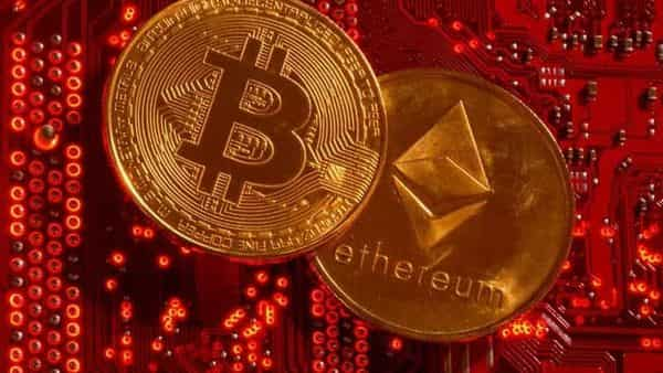Bitcoin was at $46,024 in early European trading on Wednesday after scaling a four-month high above $52,000 on Monday while Ethereum consolidated losses at $3,366 (REUTERS)