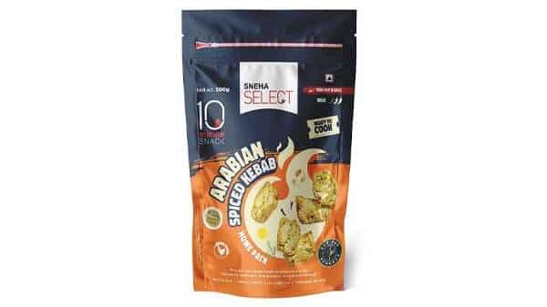 Arabian Spiced Kebab Pack With Soy Fed Label