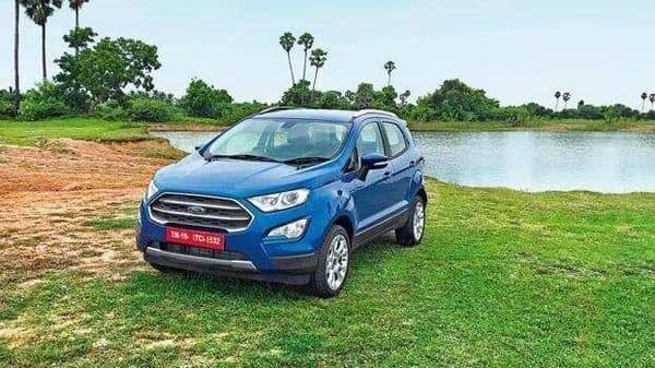 Ford EcoSport is easily the company's most successful line-up in the country followed by the Figo hatchback.